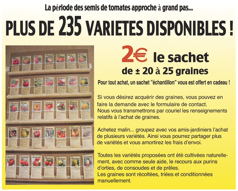 235 varits disponibles