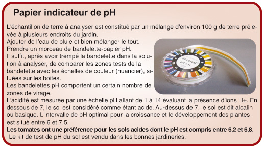 papier indicateur de pH
